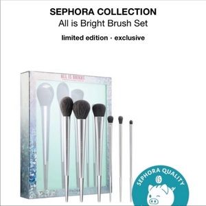 🌟 Sephora Collection All Is Bright 6-pc Brush Set